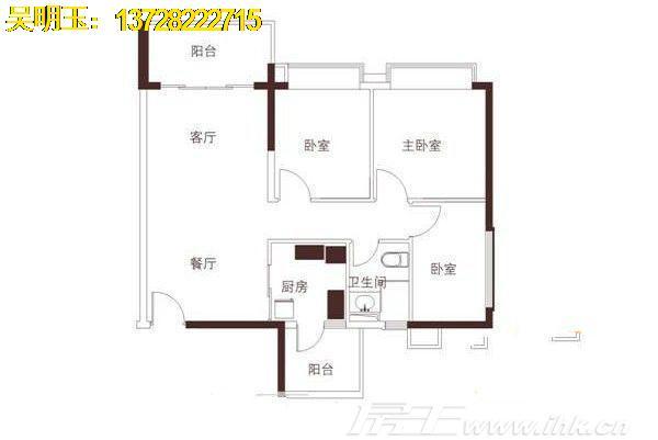 江南世家户型图