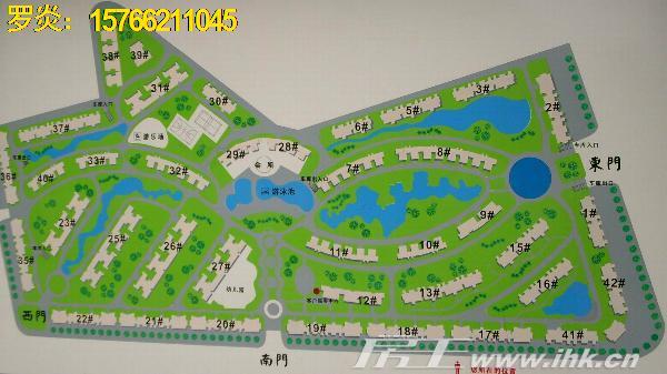 景湖春天户型图
