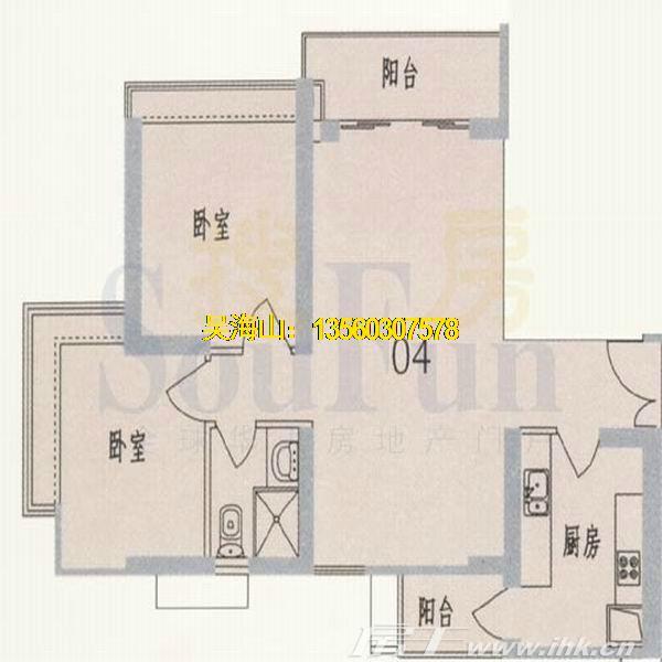 东风广场二期户型图