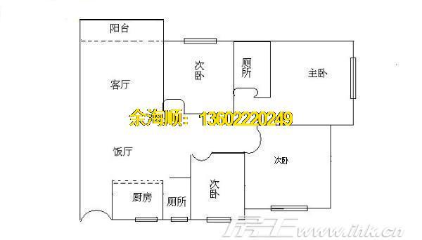 华南理工大学教工宿舍 加装电梯四房 实用率高