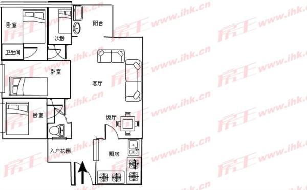 160方房子电路图
