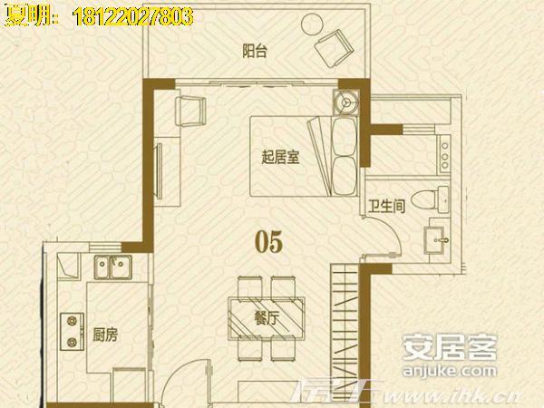 6o平方的房子2房设计图