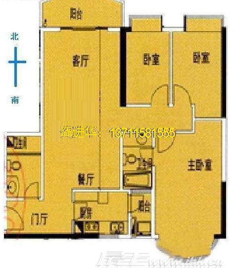 90平方两房一厅设计图展示