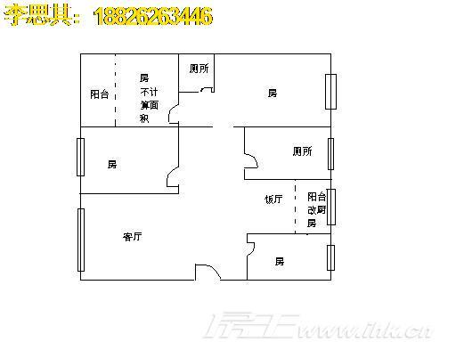 华南理工大学教工宿舍 南秀村 位置好 实用率超高