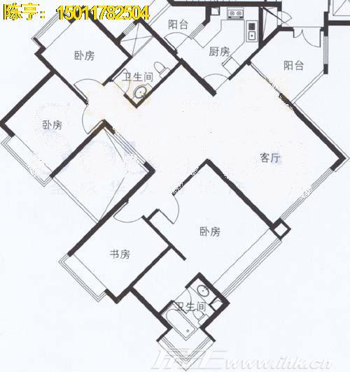 万科房屋电路布线图