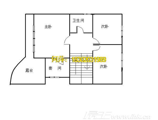 珠江花园别墅户型图
