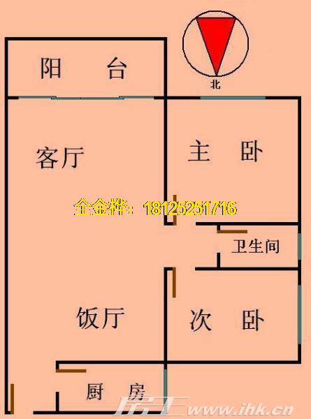 珠江半岛花园 小户型带学位 适合小家庭