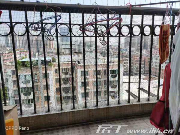 天力居精装两房户型方正 厅出阳台